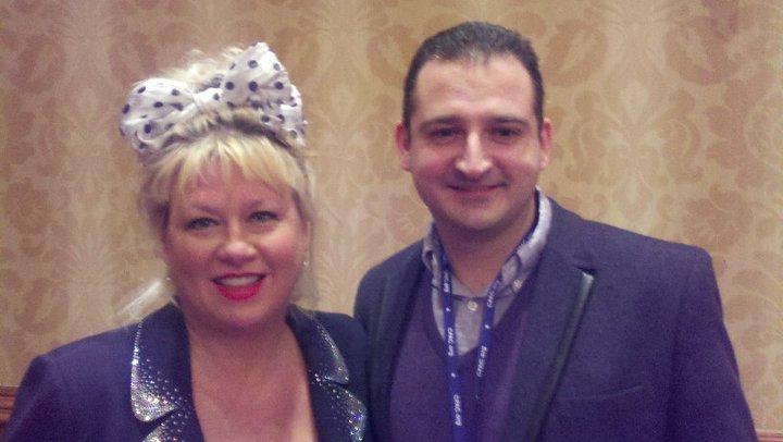 Victoria Jackson and Daniel Fazzina